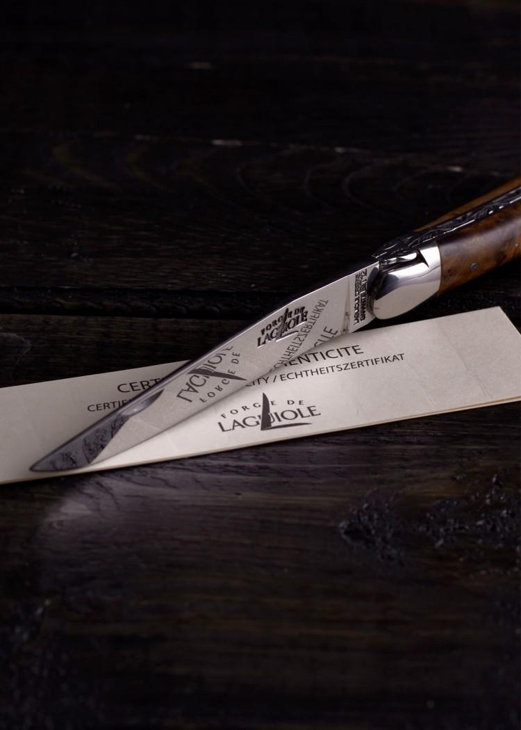 Thuja Holz Verwendung laguiole taschenmesser thuja holz inox glänzend klingenreich de