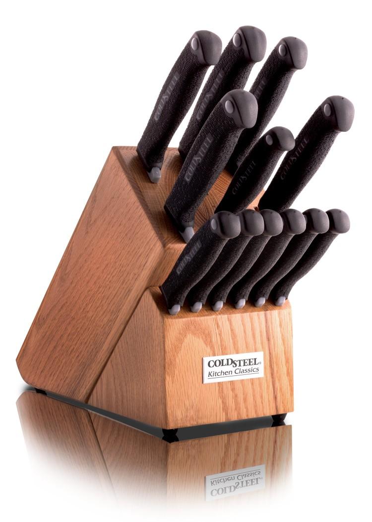 k chenmesser set optimierte griffe kitchen classics serie cold steel 59ksset klingenreich. Black Bedroom Furniture Sets. Home Design Ideas